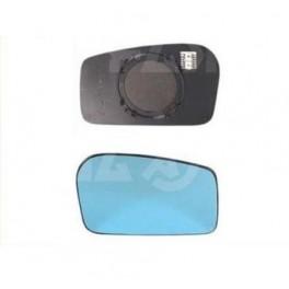 Glace et Support Retroviseur FIAT ULYSSE 1994-2002 - Gauche - Degivrage - Aspherique Bleu