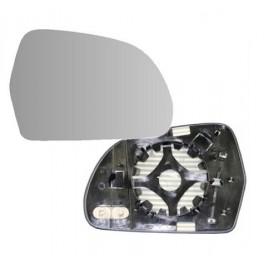 Glace et Support Retroviseur AUDI A4 2012- - Droit - Degivrage - Bombee