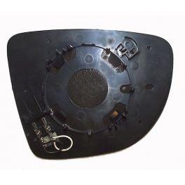 Glace et Support Retroviseur RENAULT CLIO Type IV 10/2012- - Gauche - Degivrage - Aspherique